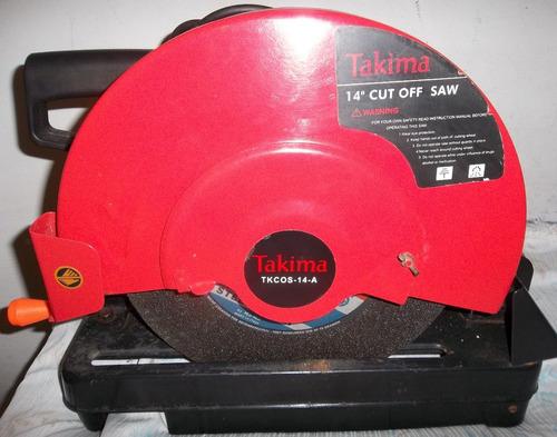 Tronzadora Takima 14 1800 Watts,335 Mm Tkcos-14-a Disc 33.5
