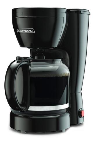 Cafetera Black+decker Cm0910 Semi Automática Negra De Filtro 120v