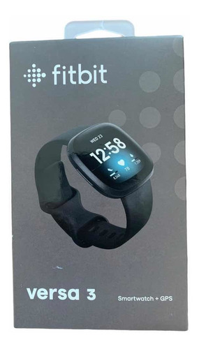 Reloj Smartwatch Fitbit Versa 3 Gps Health And Fitness