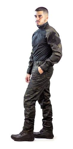 Farda Camuflada  Militar Completa Combat Shirt Calça Tática
