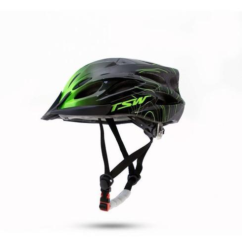 Capacete Ciclista Ciclismo Bike Bicicleta Raptor 3 Tsw E Led