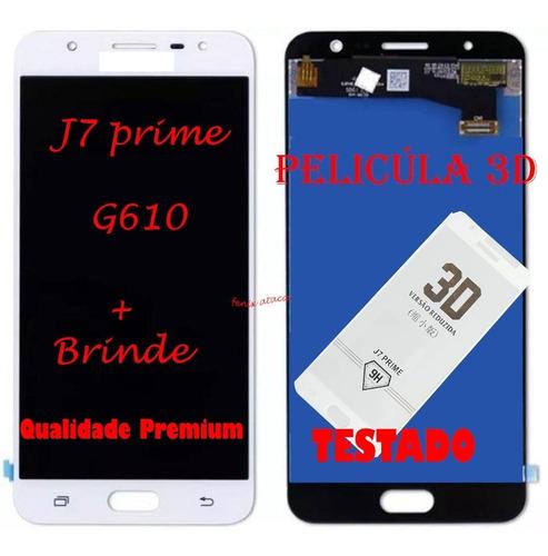 Tela Display Frontal Compatível J7 Prime G610 Incell+ Brinde