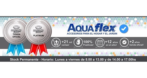 Flor De Ducha Anti-calcarea Y Brazo / Caño 15 Cm Aquaflex