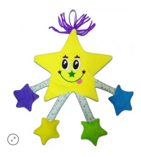 Livro Infantil De Pano Formas Estrela Briquedo Bebê Educativ
