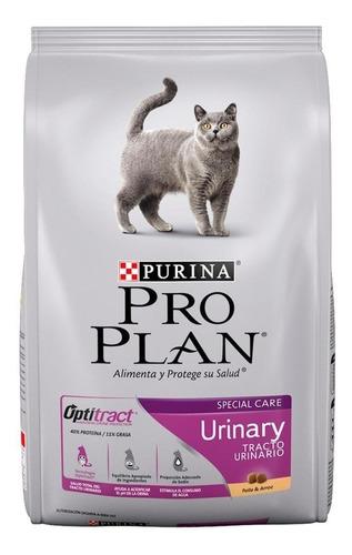 Alimento Pro Plan Urinary Para Gato Adulto Sabor Pollo Y Arroz En Bolsa De 3kg