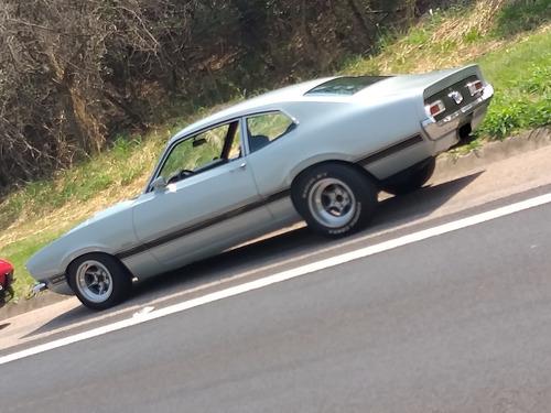 Maverick V8 Placa Preta Carangas Garage