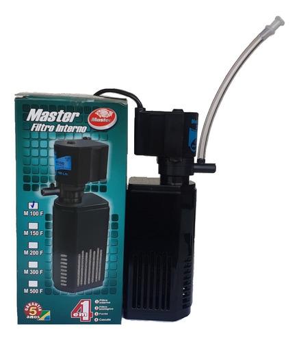 Filtro Interno Com Bomba 100l/h Aquario Pequeno 35 Litros