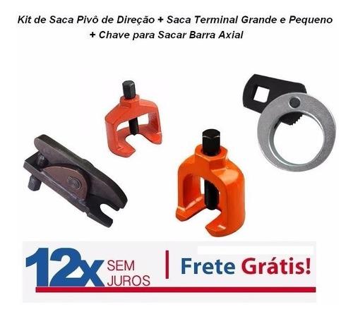 Kit De Saca Pivô De Direção + Saca Terminal Peq Gde E Axial