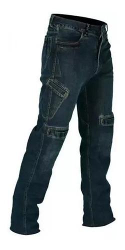 Calça Jeans Com Proteção Moto Masculina Hlx Spirit