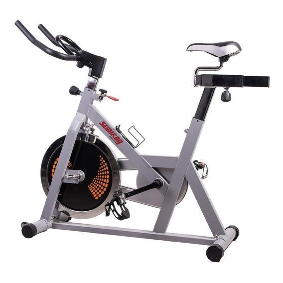 Bicicleta De Spinning Profesional Semikón Te-943a 18 Kg Disc