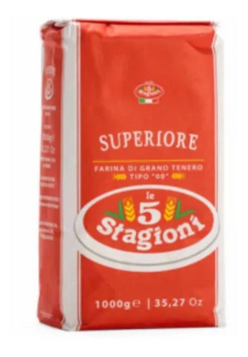 Harina Superiore 5stagioni (italia) En 10 Paquetes De Kilo