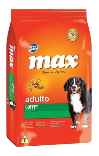 Alimento Max Premium Especial S Buffet Para Perro Adulto Todos Los Tamaños Sabor Pollo Y Vegetales En Bolsa De 22kg
