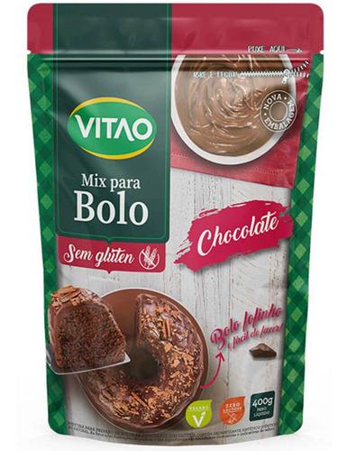 Mix Para Bolo Sem Glúten Sabor Chocolate - Vitao