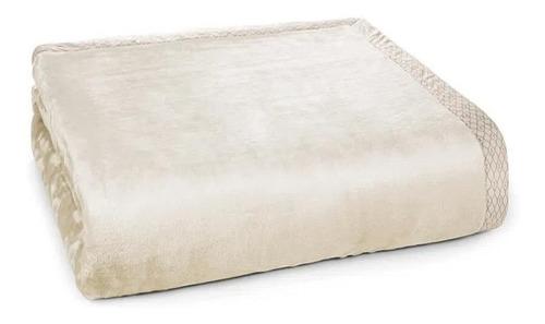 Cobertor Trussardi Piemontesi King Bege, Moonbean Liso