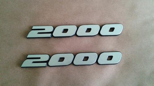 Emblema Adesivo Gol  2000 Linha Volkswagem Original