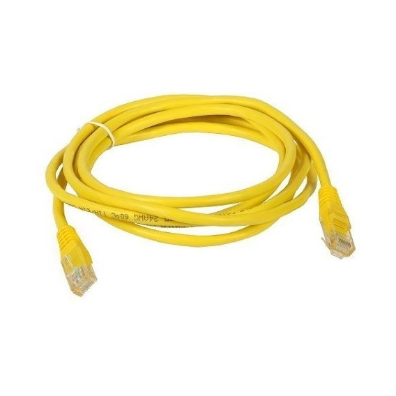 Cable De Red Utp 2 Metros Rj45 Cat 5e Patch Cord Ethernet