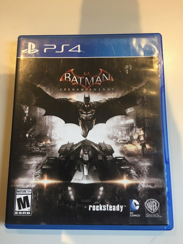 Batman Arkham Knight Ps4 Fisico