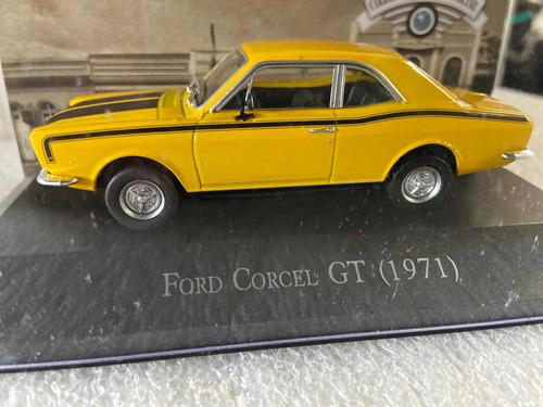 Ford Corcel Gt 1971 Carrinho Escala 1:43 Deagostini