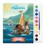 Disney Livro Com Aquarela Moana