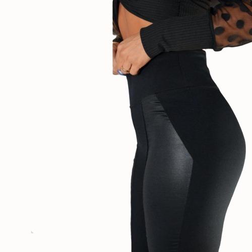 Calça Montaria Flanelada/forrada Com Detalhe Em Cirrê