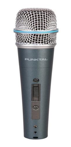 Microfono Metalico Unidireccional Punktal Pk-mic4319