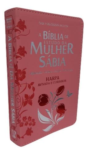 Bíblia De Estudo Feminina C/ Harpa Avivada E Corinhos