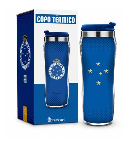Copo Térmico Cruzeiro Serie Ouro Presente Cruzeirense