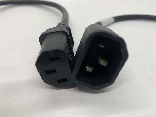 Cables Extensión Fuente Poder 1 M Pc Monitor Macho Hembra