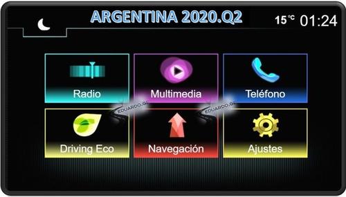 Mapa Argentina Renault Medianav + Reproductor Videos