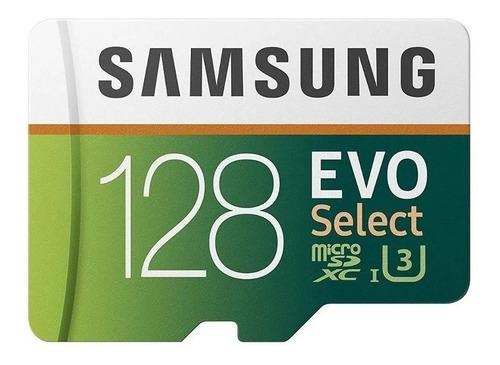 Tarjeta De Memoria Samsung Mb-me128ga/am Evo Select Con Adaptador Sd 128gb