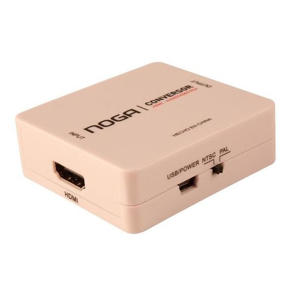 Adaptador Conversor Hdmi 1.4 A Rca Noga Full Hd Smart Tv