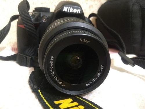 Nikon D3100 Menos De 5k Perfeito Estado E Funcionamento