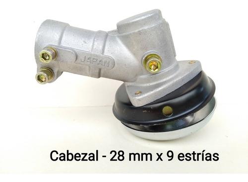 Cabezal Cabezote (28 Mm X 9 Estrías). Desmalezadora Guadaña