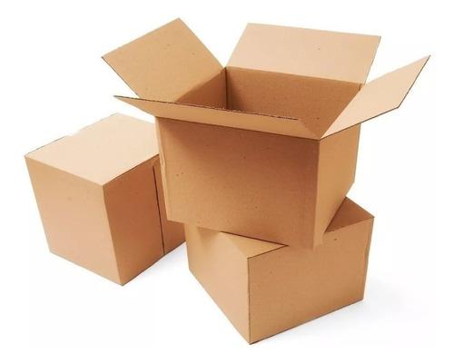Caja De Cartón 60x40x40 Cm Ideal Para Mudanza X 10 Unidades