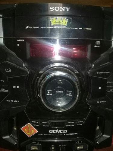 Repuestos Sony Genezi Gtr 888