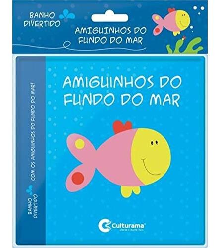 Livro De Banho Brinquedo Bebê Mordedor Macio Leitura