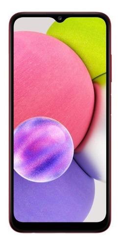 Smartphone Galaxy A03s 6.5'' 64gb 4gb Ram Vermelho Samsung
