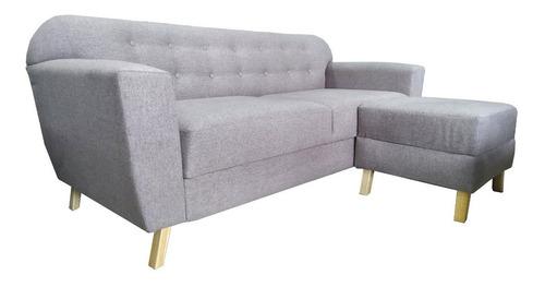 Sofa 3 Cuerpos Nórdico Con Isla Incluida .  Mi Casa