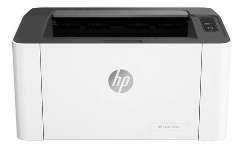 Impresora Hp Laserjet 107a 220v Blanca Y Negra