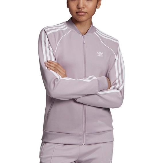 Campera adidas Originals Moda Sst Mujer Li/bl