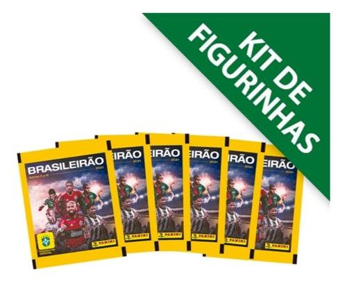 Kit 20 Envelopes (100 Figurinhas) Brasileirão 2021