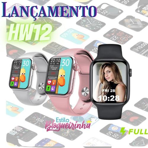 Relógio Smartwatch Hw 12 Série 6 Tela Infinita   Lançamento!