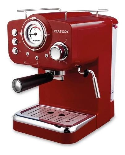 Cafetera Peabody Smartchef Pe-ce5003r Automática Roja Expreso 220v