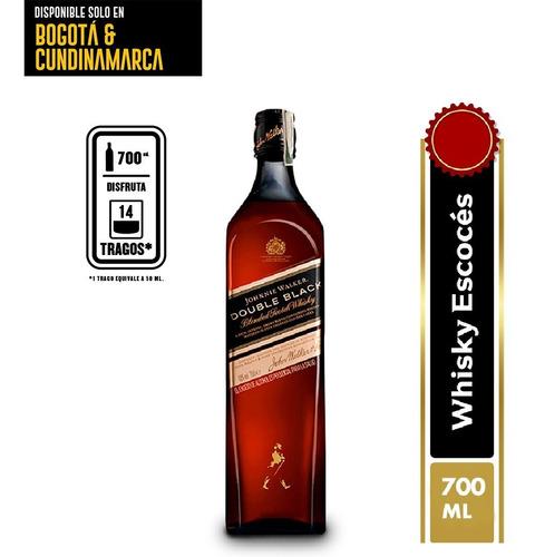 Whisky Johnnie Walker Double Black 700 - mL a $193