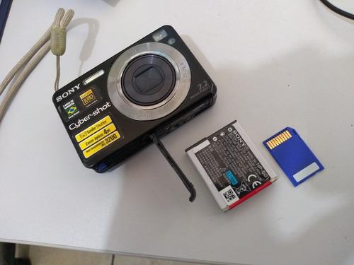 Câmera Fotográfica Sony Cyber Shot  7.2 Mega Pixels