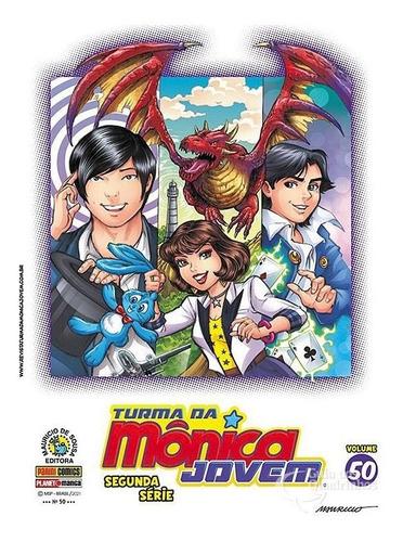 Turma Da Monica Jovem Primeira Série Escolha Ed. Panini