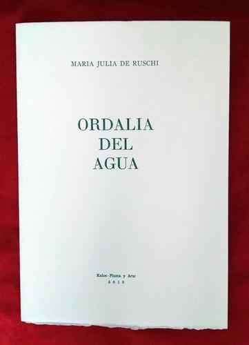 María Julia De Ruschi - Ordalía Del Agua