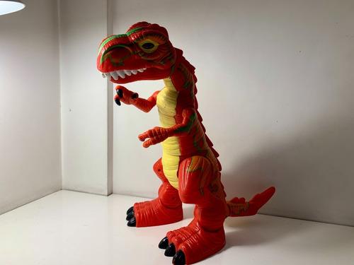 Dino Mega T-rex Fisher Prcie Con Movimientos Luces Y Sonido.