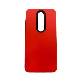 Funda Nokia 5.1 Plus Anti Golpes Carbono + Templado