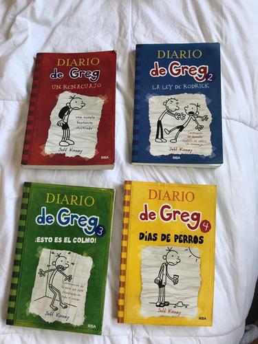 Libros Diario De Greg Volumenes 1 2 3 Y 4